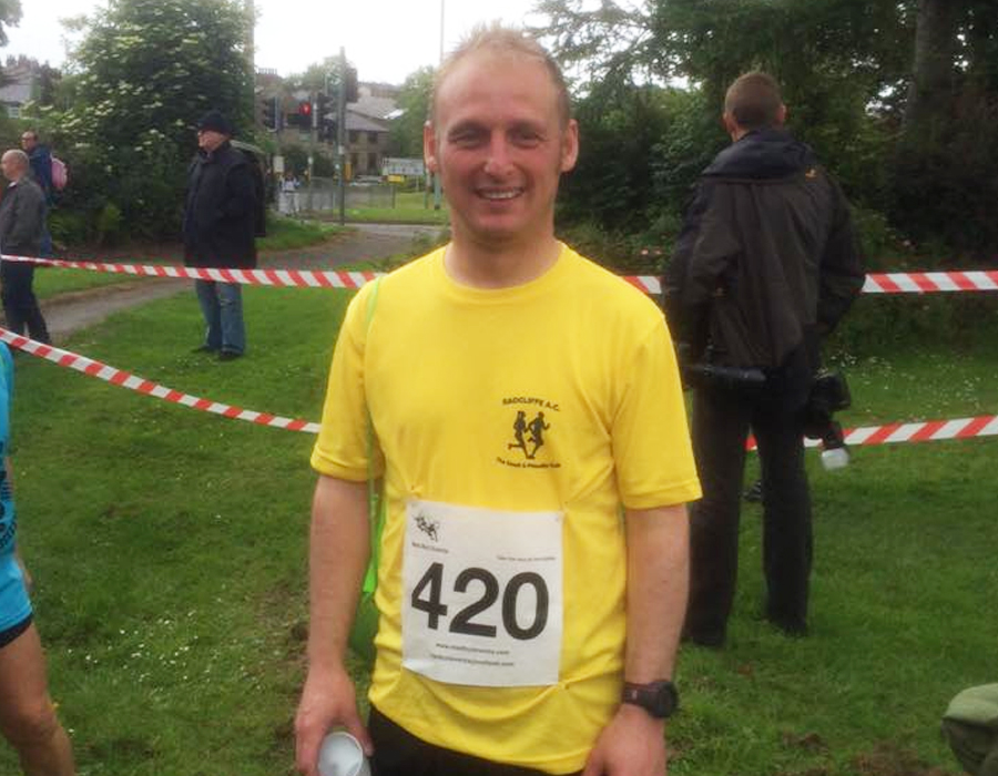 Chris Saville Radcliffe Running Club Team Member