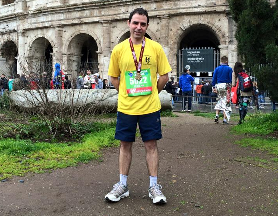 Luigi Salzano Radcliffe Running Club Team Member