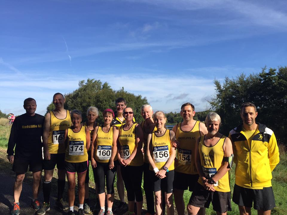 Radcliffe Runners at Blackleach race