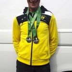 Two medals for Dave at Snowdon.