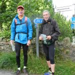 Peter and Ian complete the Cumbria Traverse.