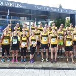 Group shot at Bury 10k.