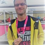 Neal a pb in the Yorkshire Marathon.