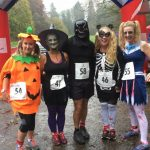 Great fancy dress at the Trick or Treat 4 Mile Trail Race.