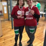 Bev and Sarah complete the 30 mile White Rose Ultra.