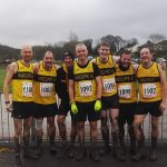 Muddy men at Marl Pits, Rossendale.