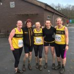 Ladies success at Rossendale cross country.