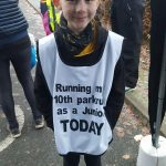 New junior Megan notches up 10 parkruns.