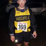 Andy Haines in the night run.