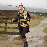 Fiona in action in the Haworth Hobble. (Picture by Mick Fryer).