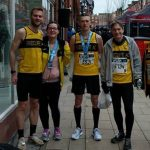 Runners in the Wigan 5k.