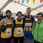 Runners ready for the tough 3 Peaks.