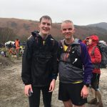 Chris and Kris at the Coledale Horseshoe.
