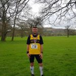 Mark at the Chatsworth 10k.