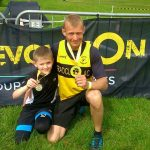 Overcoming all obstacles proud dad Craig and son Ryan.