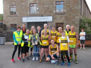 At the Tor Mile.