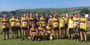 Runners at Edenfield.