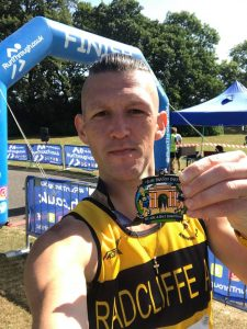 A first for Chris at Heaton Park.