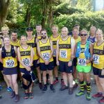 Runners at Knowl Hill.