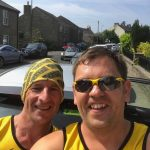 Dave and Wayne at Edgworth 10k.