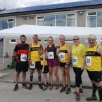 Running at the trial Prestwich events