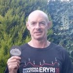 Paul well pleased with his time in Snowdonia Marathon.