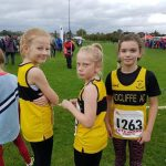 Junior girls ready to go.