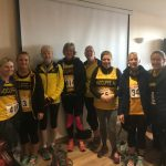 Members at the City of Salford Women's Race.