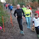 Andy Wheeler at Bolton New Year's Day parkrun.