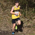 Lachlan Burke finished third in the South East Lancashire Cross Country series