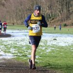 Dave Rushton was first home for the club at Blackburn Winter Warmer (pic Debi Warrington).