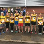 Members at the Central Lancashire 5k.