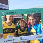 The Lostock three (from left) David Schofield, Peter Cook and Kirsten Cook.