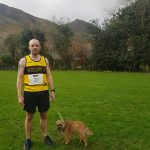 Andy Haines at Causey Pike Fell Race.