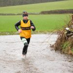 Isabel Hockenhull at a wet Cartmel Sport trail 5k