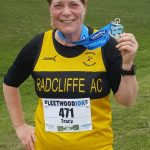 Tracy Wroe at Fleetwood 10k.
